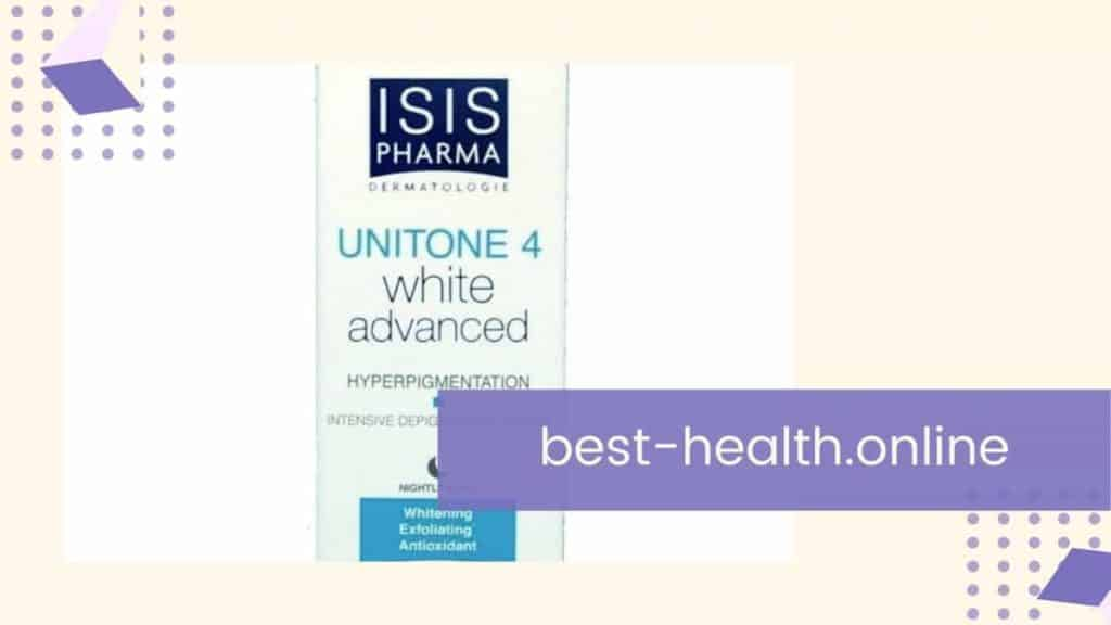كريم unitone 4 white advanced